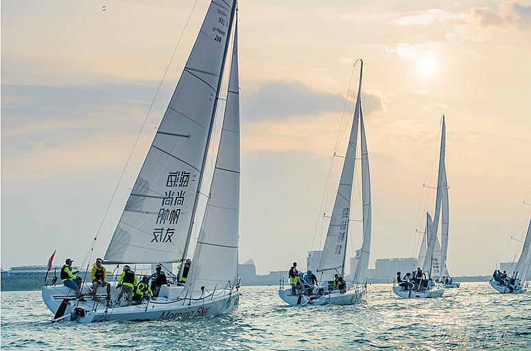 中国城市,浦东新区,有限公司,上海市,纵横四海 国内最大奖项帆船赛中秋再度聚临港