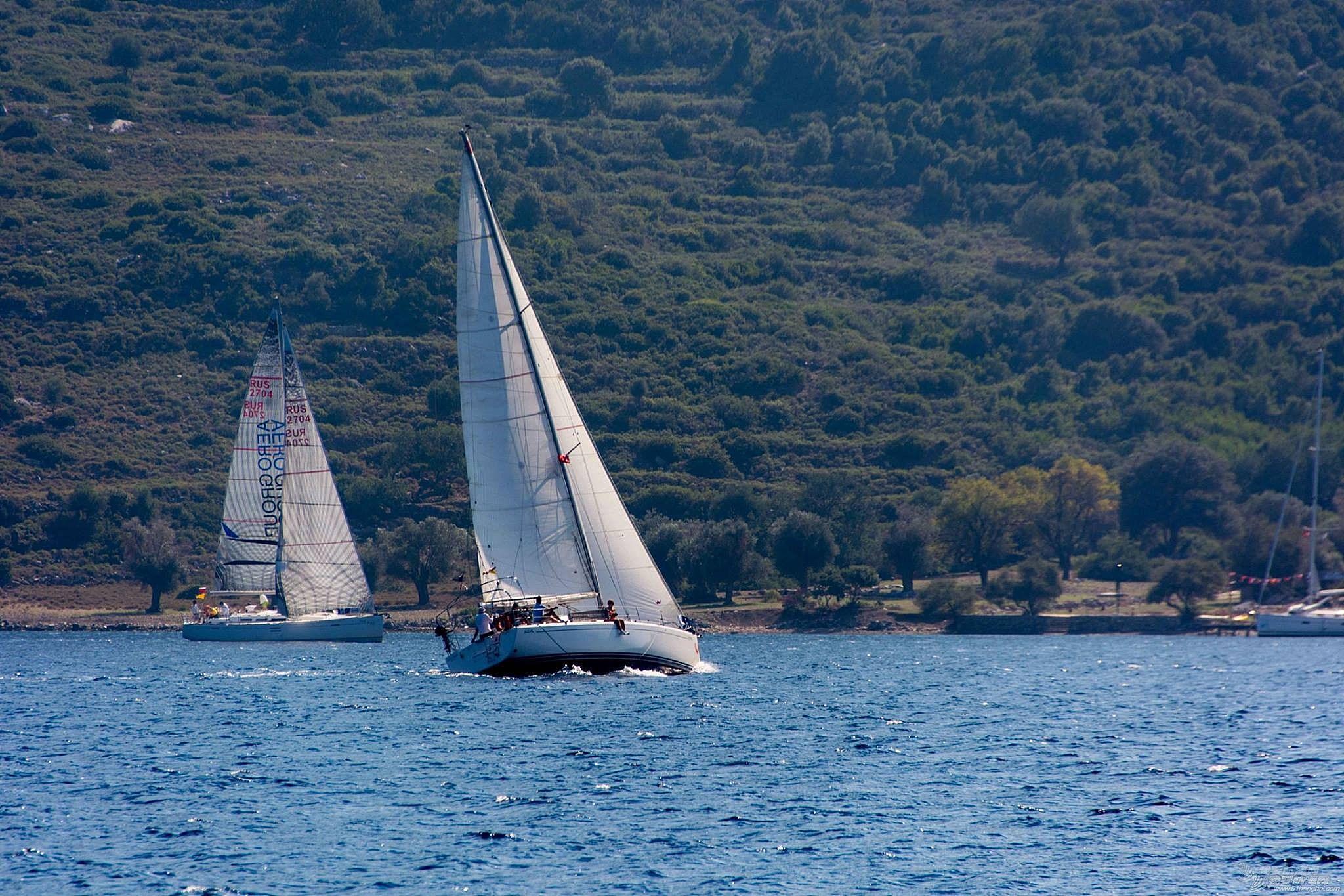 土耳其 航海到土耳其又遇土耳其帆赛