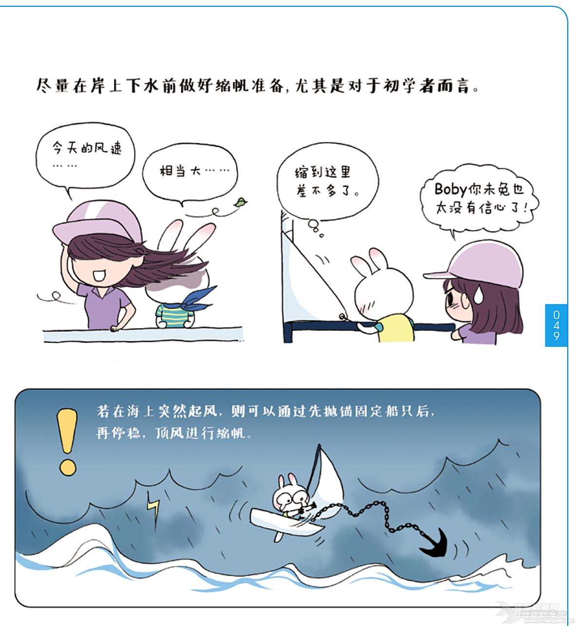 奥运冠军,帆船,连载 《跟奥运冠军学帆船》Lesson 15 缩帆系统