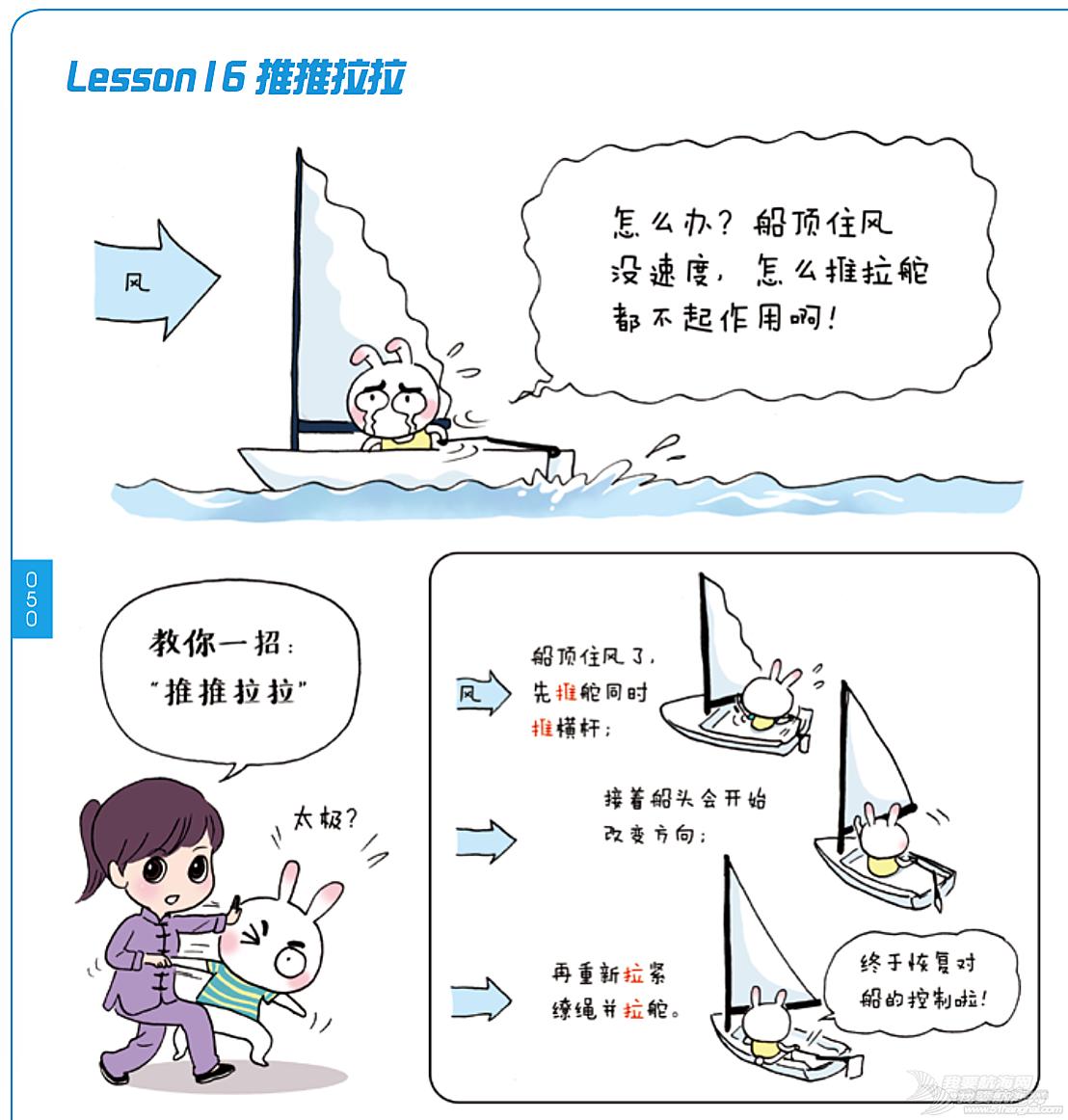 奥运冠军,帆船,连载 《跟奥运冠军学帆船》Lesson 16 推推拉拉