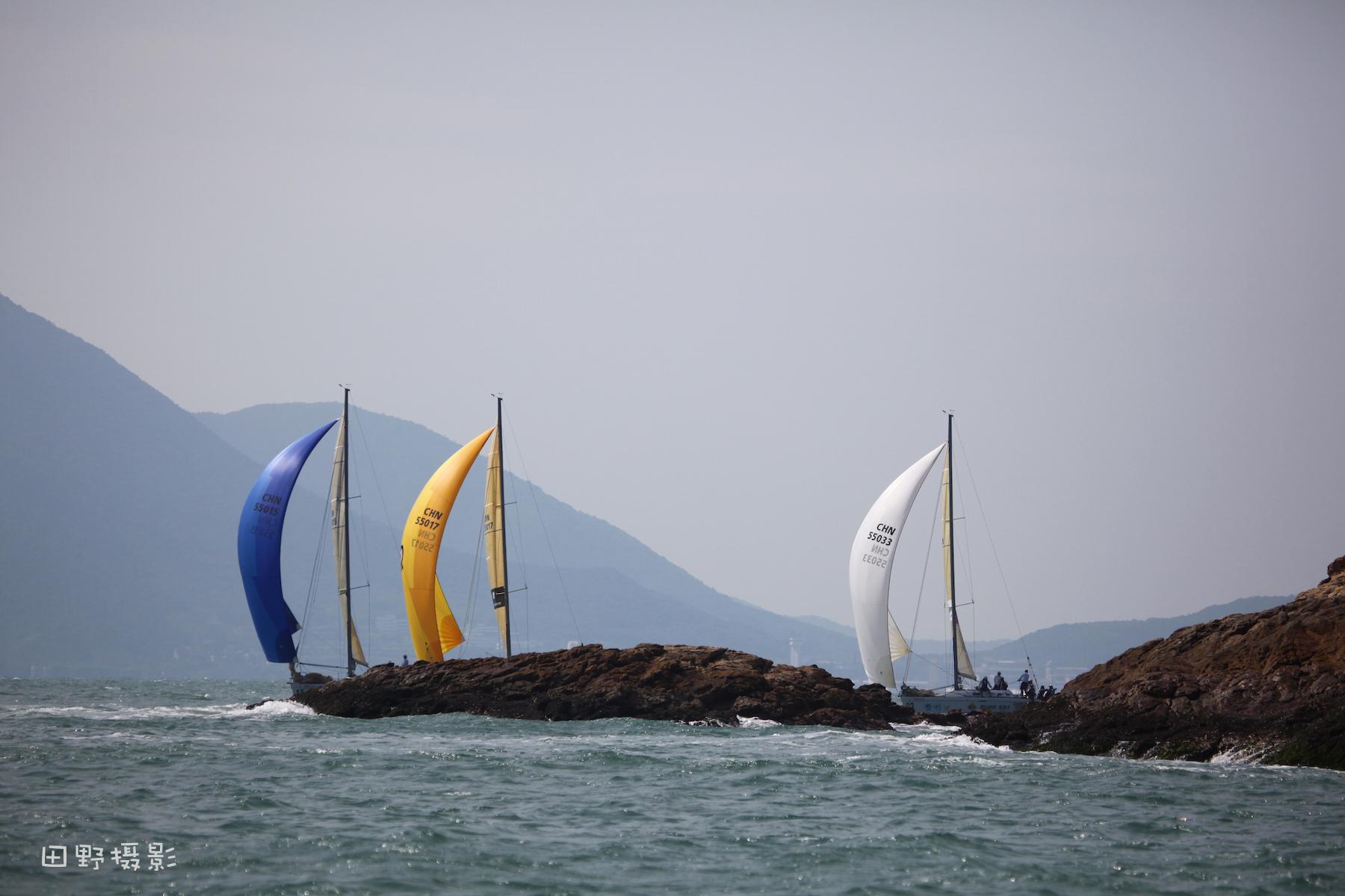 中国 第九届中国杯帆船赛精彩瞬间      摄影田野 第九届中杯帆船赛