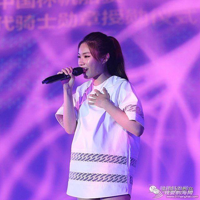 赵大格唱响中国杯帆船赛录新歌上真人秀挑战自我