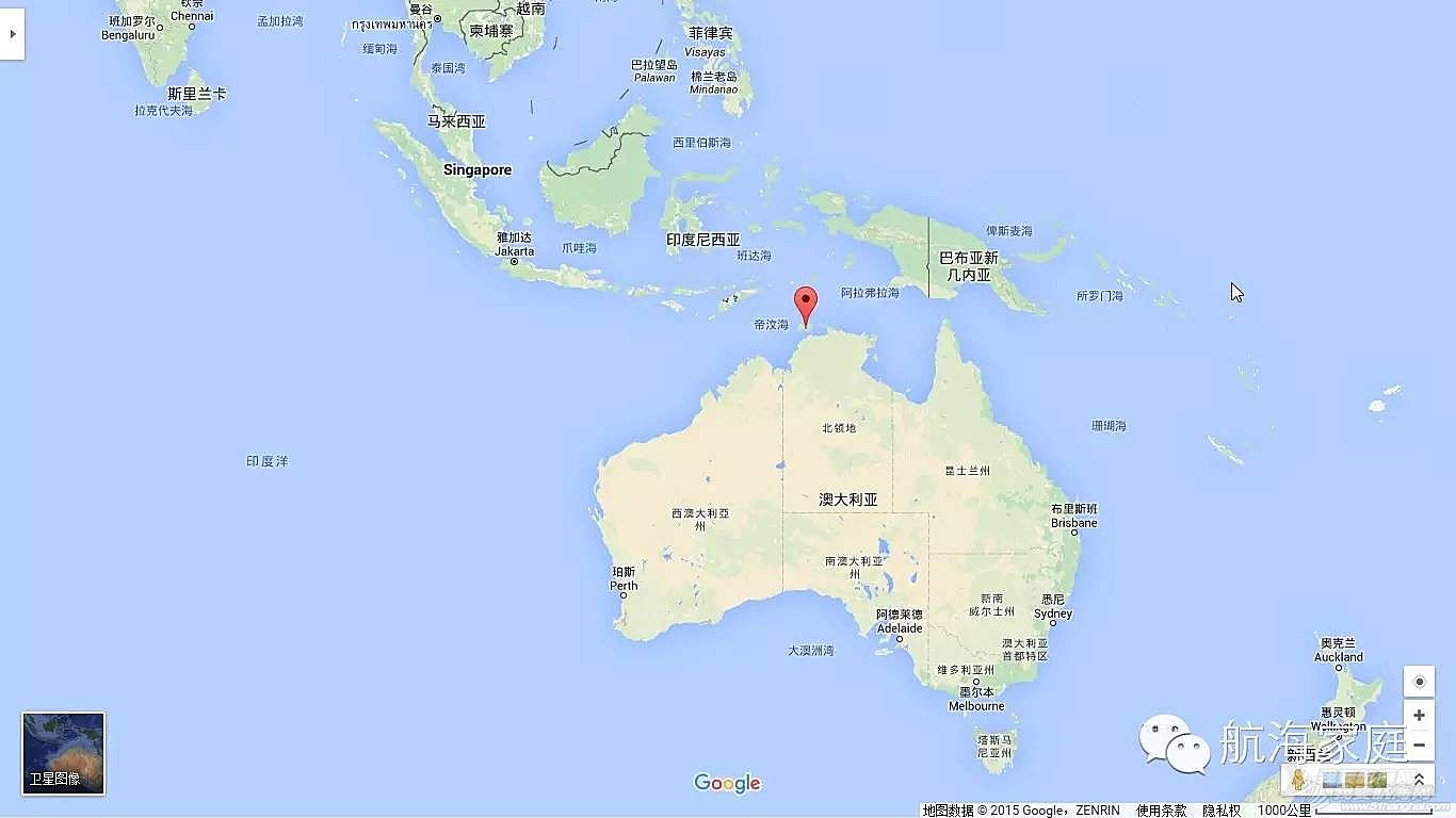 第一个飞到澳洲土著岛屿的中国飞行员
