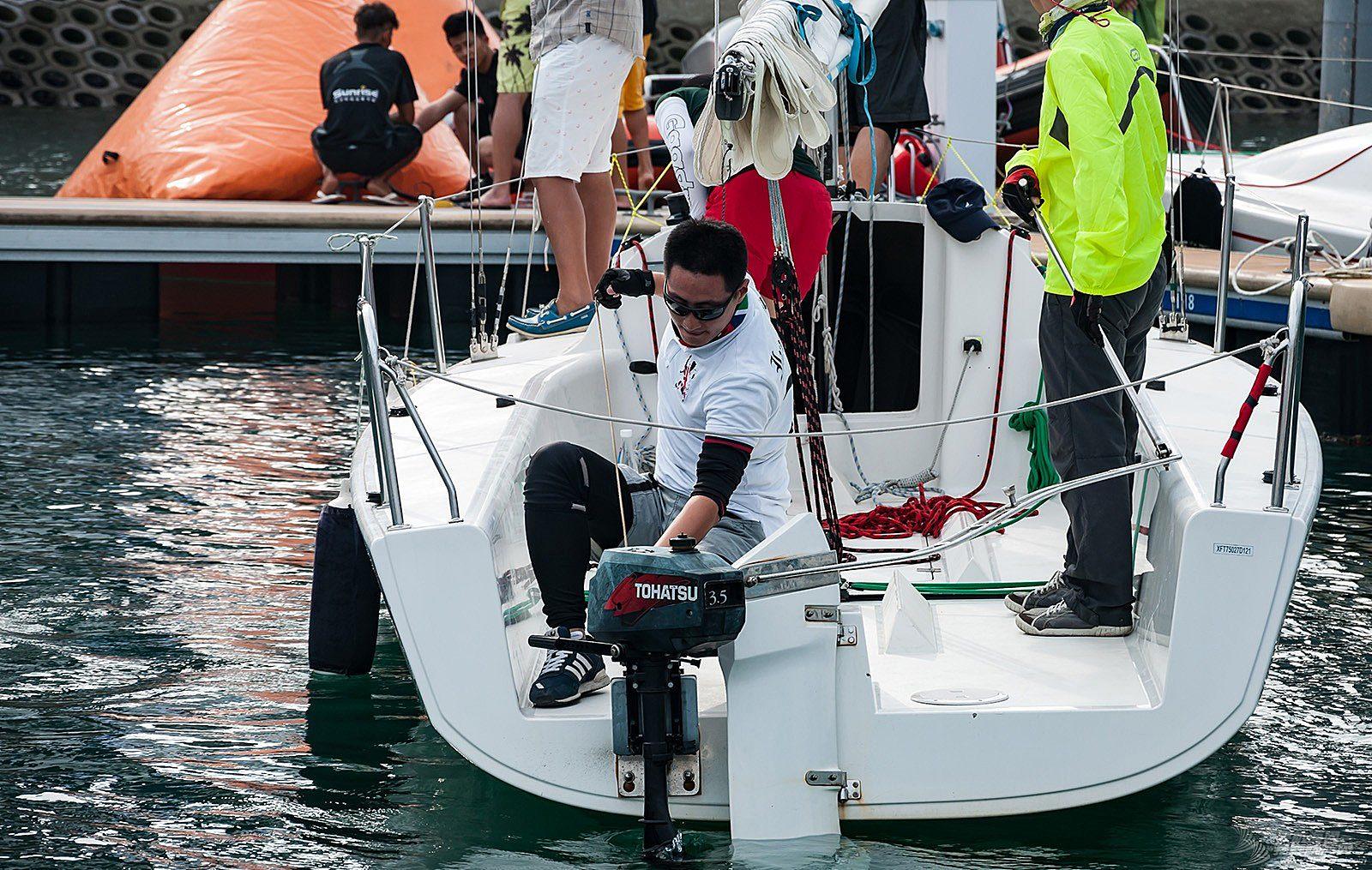 【2015大鹏杯帆船赛】51航海网船队整装待发