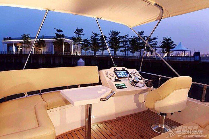 商务 豪华45英尺 商务游艇出售 三证齐全