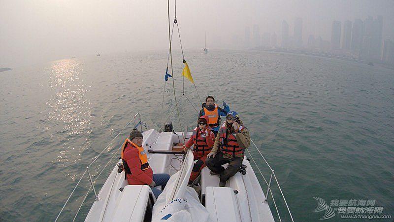 2015年青岛龙骨双船(冬季)对抗赛