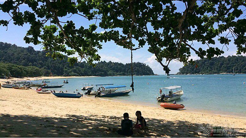 从兰卡威航行到东马来西亚古晋。
