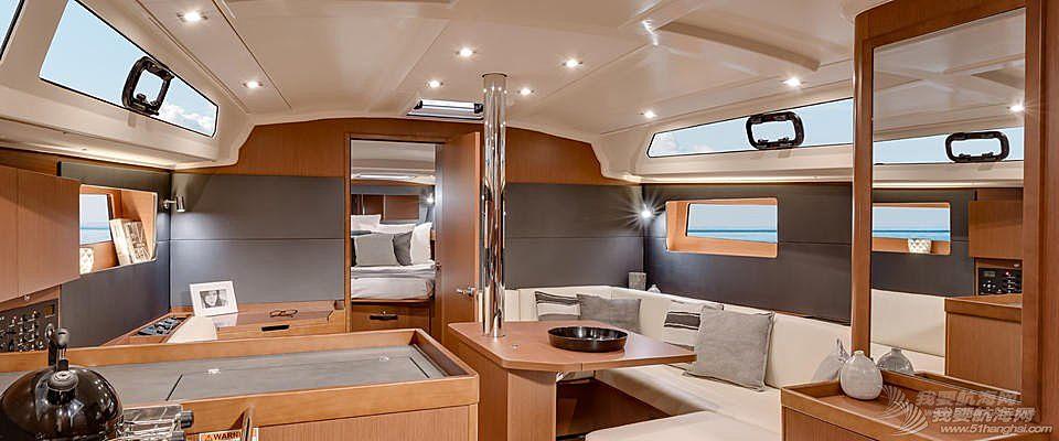 发动机,帆船,空间,商务 Beneteau Oceanis 41.1博纳多遨享仕41.1英尺单体帆船