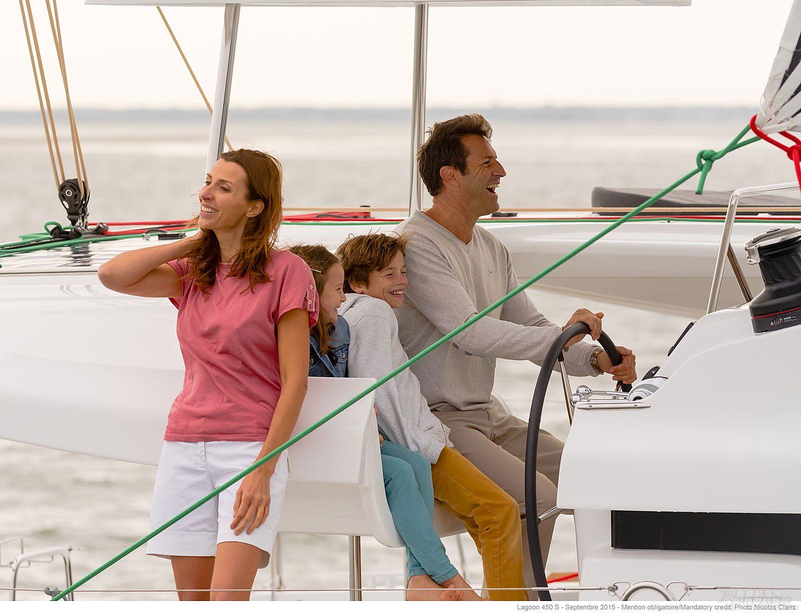 帆船 lagoon 450S 蓝高450S双体帆船