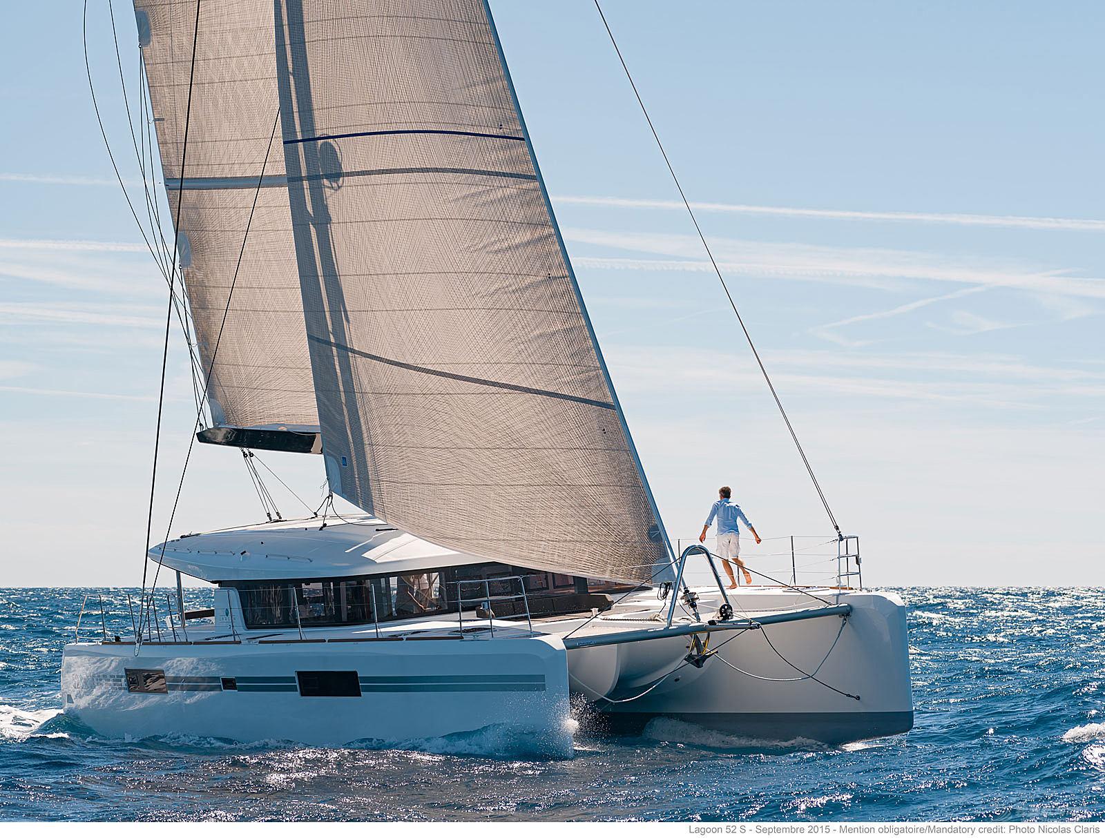 帆船 Lagoon 52S 蓝高52S双体帆船