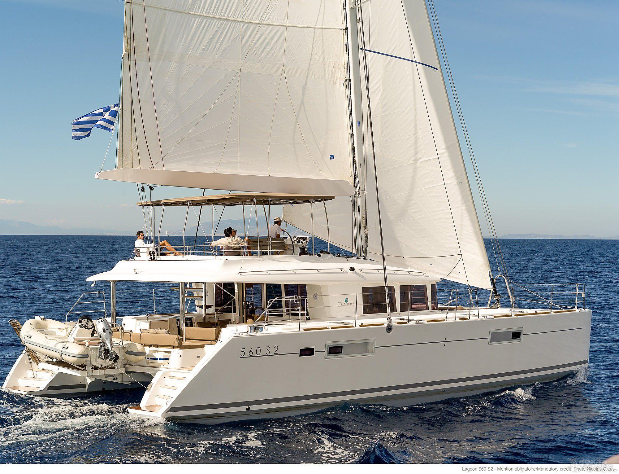 帆船 Lagoon 560 蓝高560双体帆船