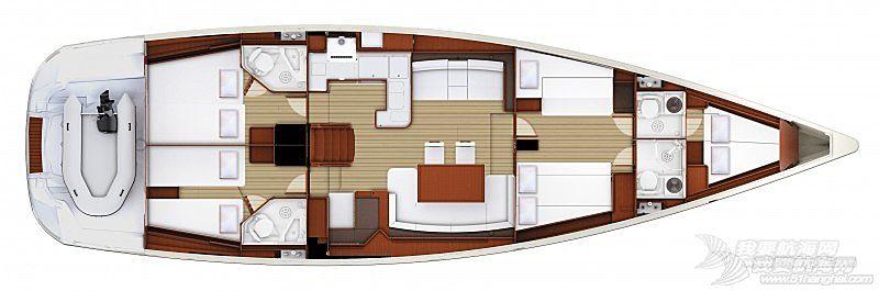 帆船 Jeanneau 57 亚诺57英尺单体帆船