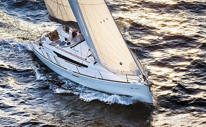 帆船 Jeanneau Sun Odyssey 389 亚诺389单体帆船