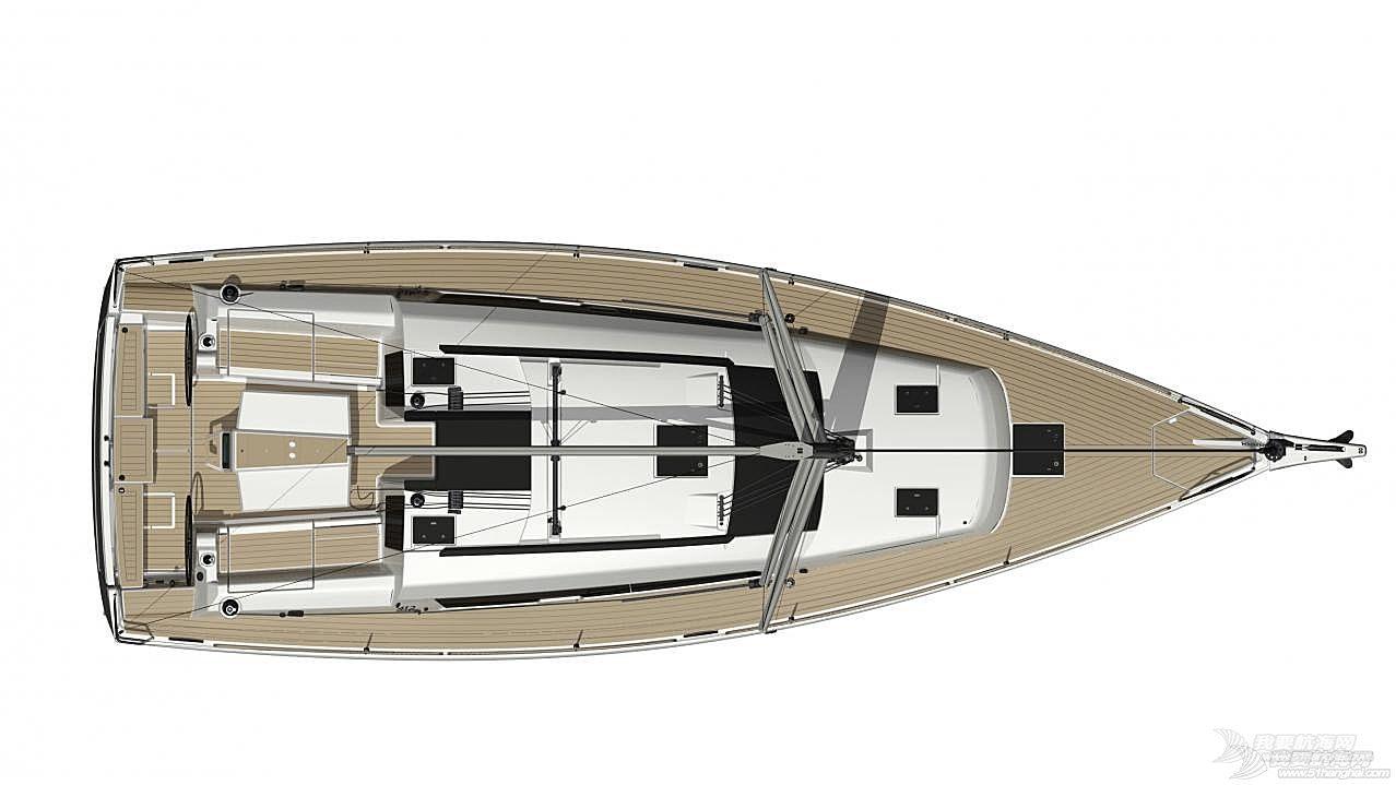 帆船 DUFOUR 412 丹枫412单体帆船