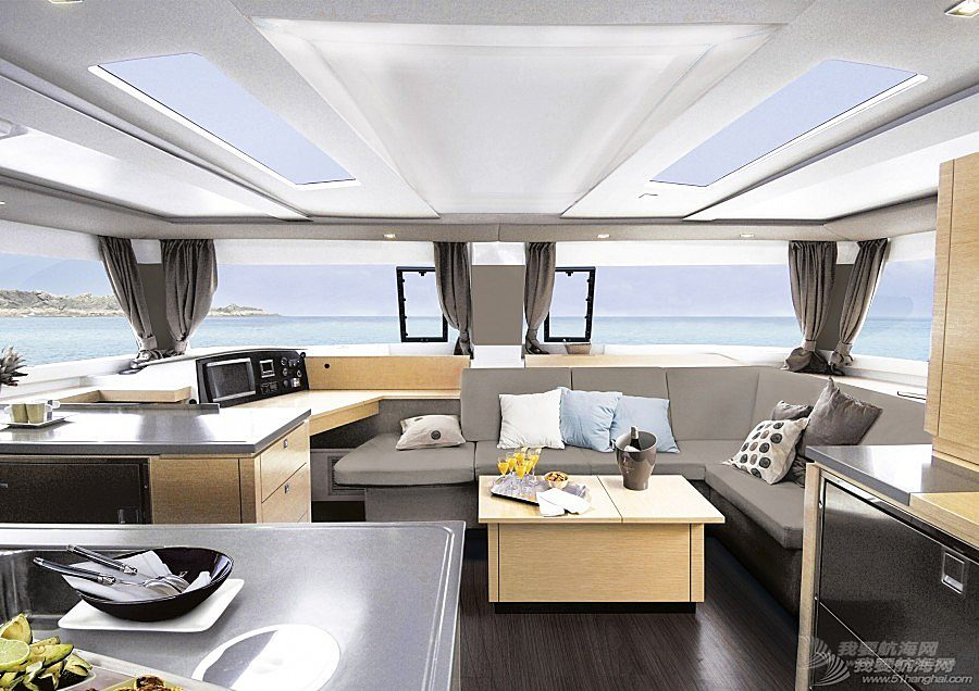 枫丹白露,帆船 Fountaine Pajot HELIA 44 枫丹白露 伊莱 44双体帆船