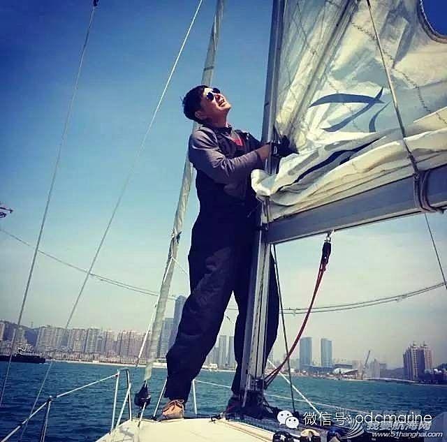 大连 大连帆友陶哥的帆航历程