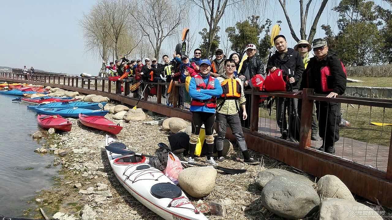 皮划艇,无锡,太湖 无锡君雅皮划艇22人同时穿越太湖贡湖湾