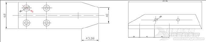 二、甲板上支索系固板的制作