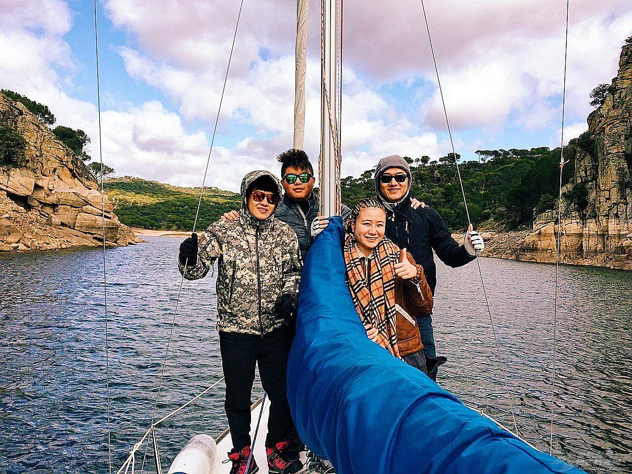 西班牙,马德里,俱乐部,风景 马德里郊区水库帆艇实践 --- by 西班牙龙骨航海俱乐部