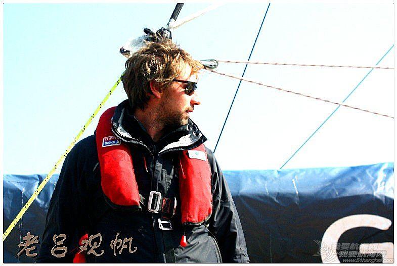 青岛 2015-2016克利伯环球帆船赛青岛站第一天