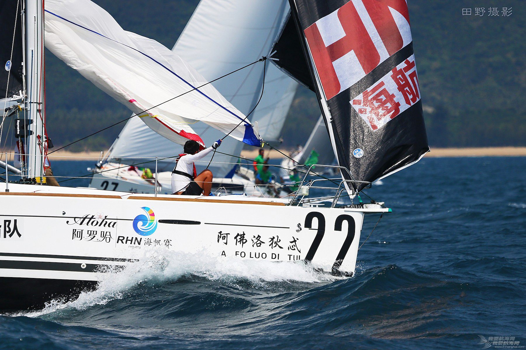 图片,万宁 田野镜头里的海帆赛-暨2016阿罗哈杯环海南岛国际大帆船赛第5日