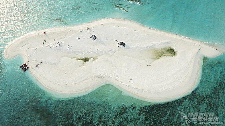 升旗仪式,拉力赛,中国,中华,海洋 2016司南杯西沙拉力赛船队登陆全富岛,升旗宣誓号召海洋环保