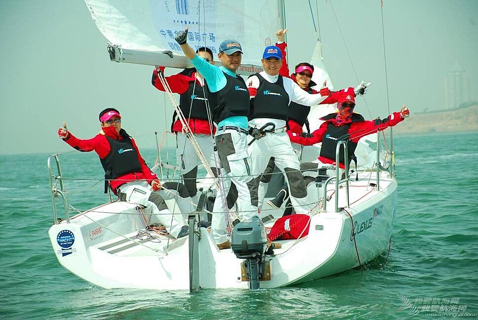 第七届2016青岛ccor帆船赛第一天的部分照片
