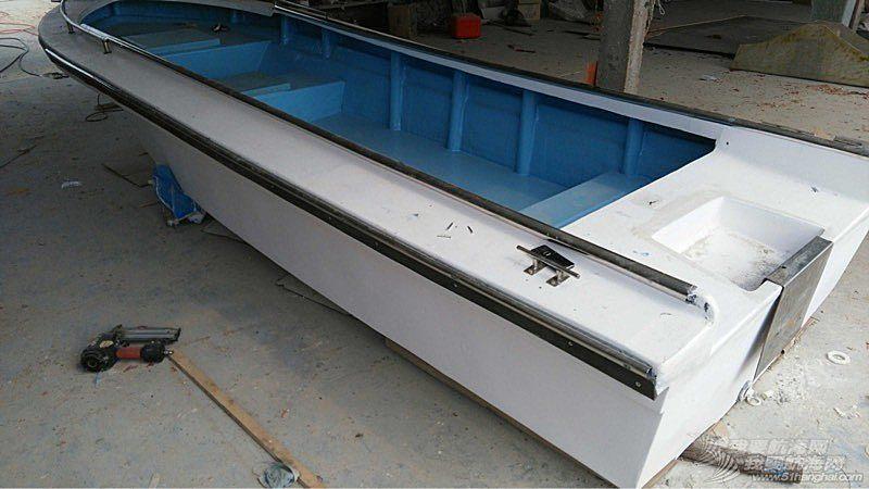 5.2米玻璃钢钓鱼艇