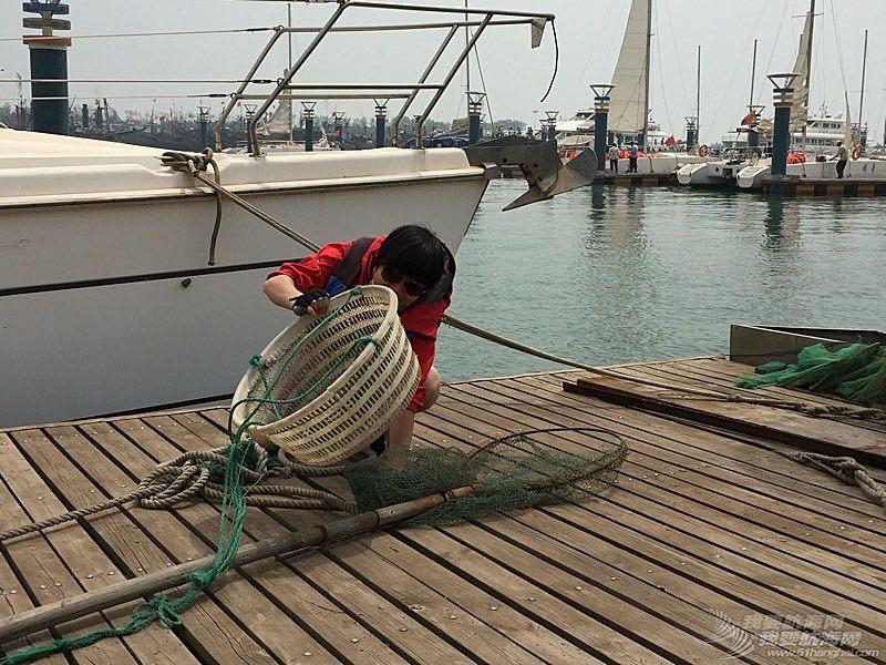 五一日照学帆船之行