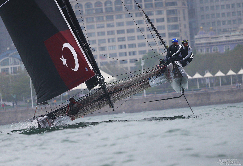 青岛,极限 青岛极限赛的最后一天终于见识了会飞的船--田野摄影告诉你真相