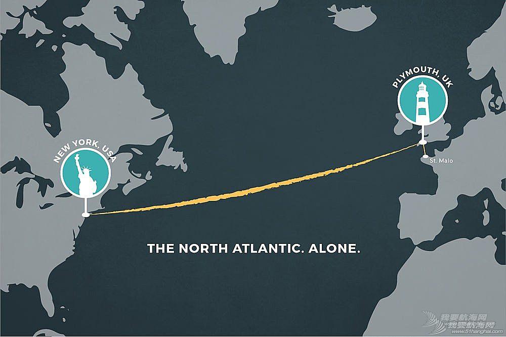 大西洋,普利茅斯,英国,法国,帆船 跨大西洋赛:Coville获得亚军