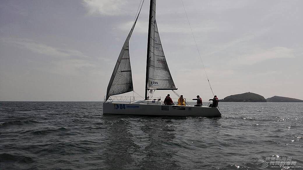 大连拓恩帆船赛第二天