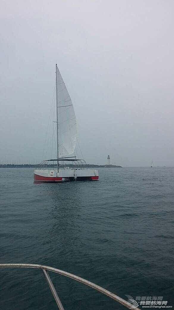 双体观光帆船 帆船旅游