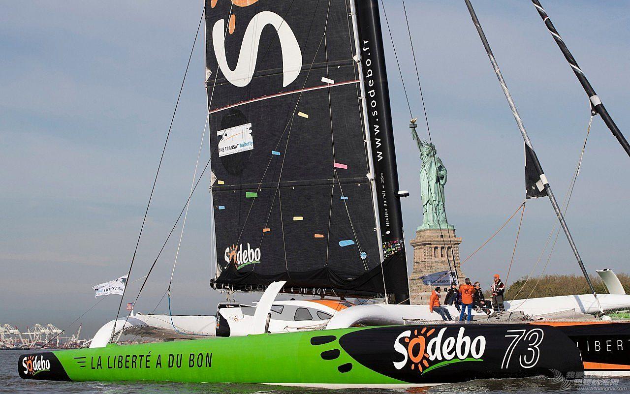 全新的世界,国际帆联,大西洋,全世界,新世界 新世界纪录诞生,Thomas Coville缔造全新单人不间断24小时航行纪录。