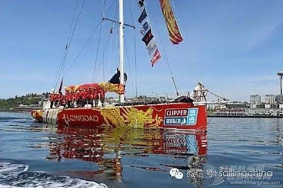 """克利伯环球帆船赛结束第11赛段 中国""""青岛号""""位列第八"""