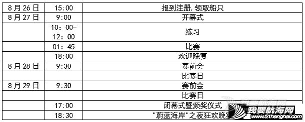 """2016 第二届""""梅沙教育杯""""全国青少年帆船俱乐部联赛秦皇岛站竞赛规程"""