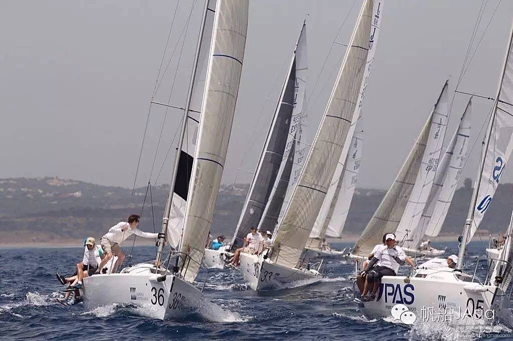 西班牙安达卢西亚,J80帆船世锦赛激战正酣