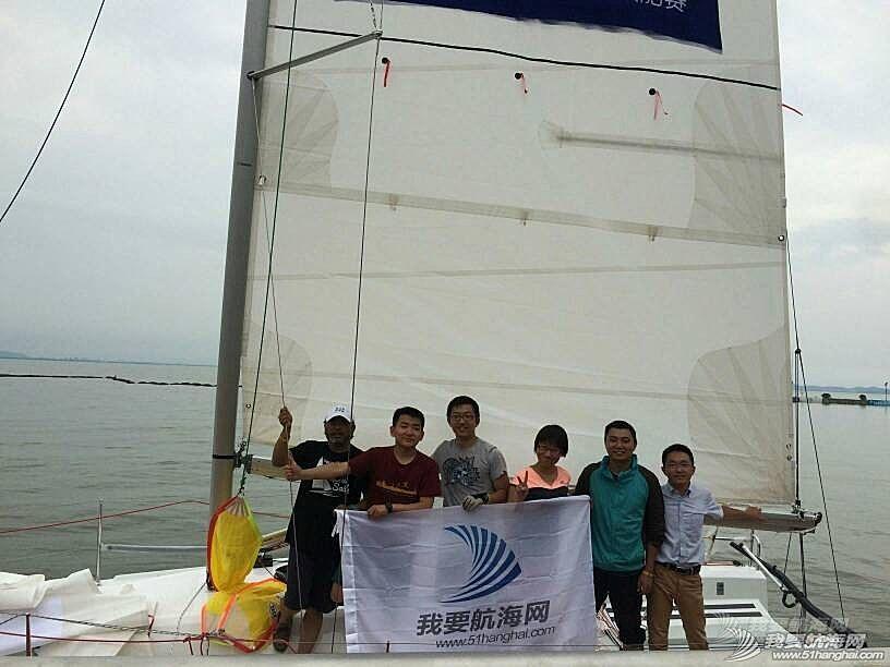 太湖 第八界太湖杯帆船赛小记