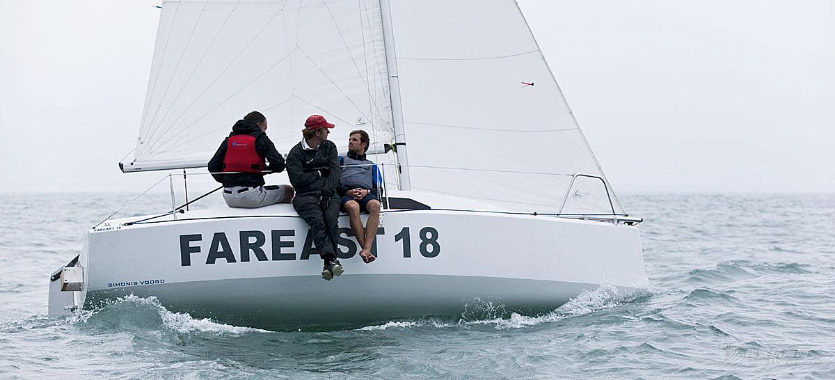 """雅马哈,帆船运动,室内设计,碳纤维,排水量 福利:7万一条处理""""珐伊18""""帆船【青岛】"""