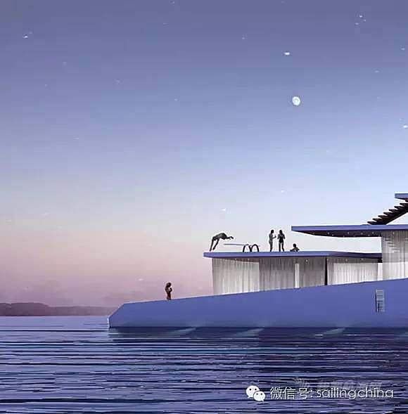 [游艇鉴赏】这艘超级游艇是一座可以撒欢儿的海上移动大露台