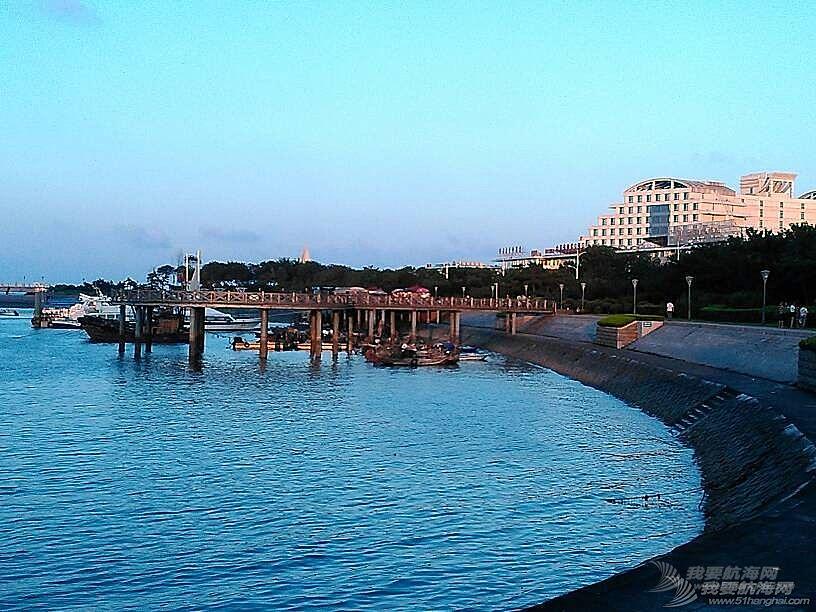 世帆赛基地,惬意的蓝调……