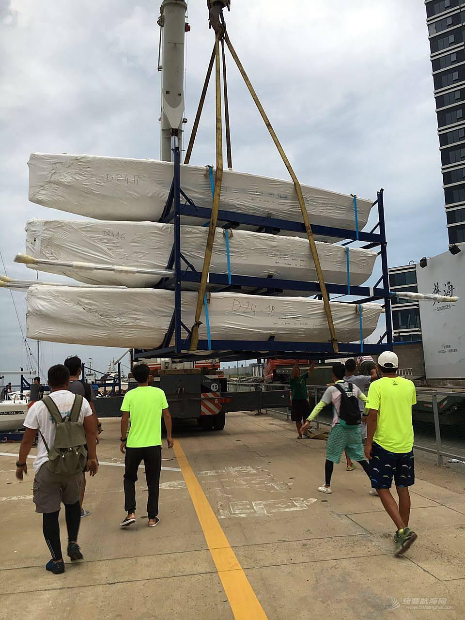 地下水,帆船,游泳 八条DUFOUR-达卡24尺帆船全部成功落地下水!