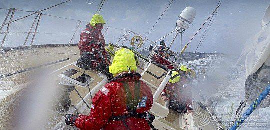 梦里参加帆船赛