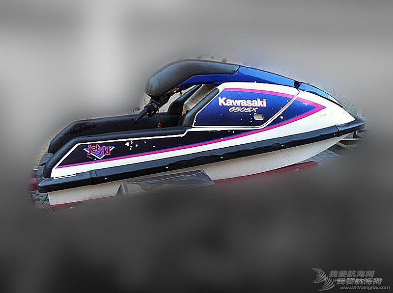 汽油发动机,摩托艇,北京,翻新 北京出售个人自己玩的川崎650立式单人摩托艇,原厂漆