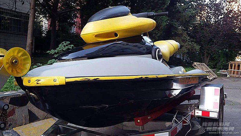 摩托艇,庞巴迪,北京 北京出售个人自用庞巴迪XP-951摩托艇,原版原漆