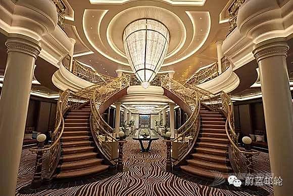 花了4.5亿美元打造的邮轮,才能称为名符其实的海上宫殿
