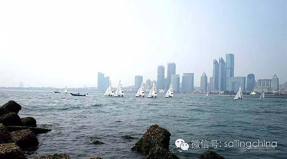 蓝天 碧海 白帆 世界杯帆船赛青岛站今日扬帆