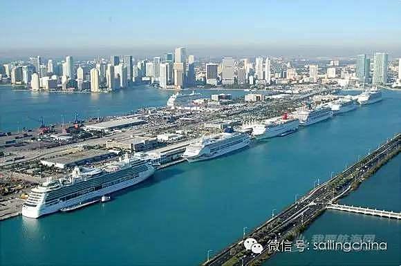 佛罗里达的二大邮轮母港-劳德代尔堡和迈阿密