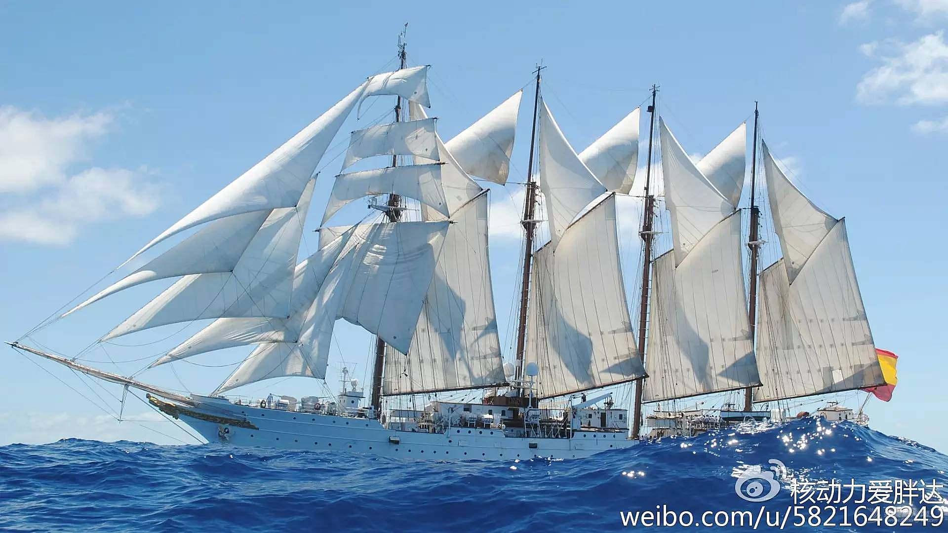 彪炳史册的风帆战舰按原图重建了!快看他们在海上长啥样?