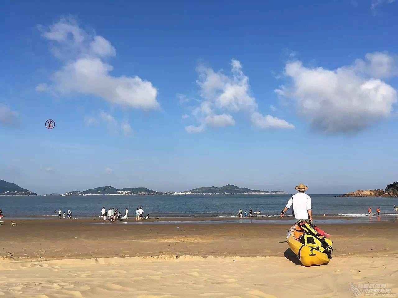 新鲜感,朱家尖,救生衣,天气,沙滩 出发舟山朱家尖老佃房沙滩,这种视觉冲击可不是每天都有喔.....